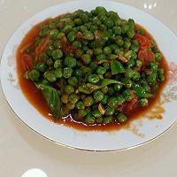茄汁豌豆下饭菜的做法图解10