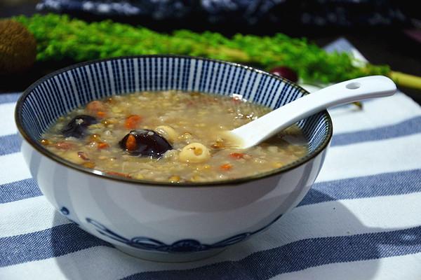 清凉祛火粥#8分钟搞定你的菜#的做法