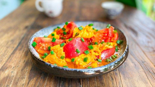 完美番茄炒蛋!3分钟教你炒出大师级西红柿炒蛋!国民下饭菜!的做法