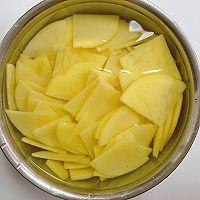家常辣椒炒土豆片的做法图解1