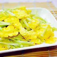 炒出水嫩鸡蛋--韭黄炒鸡蛋的做法图解10