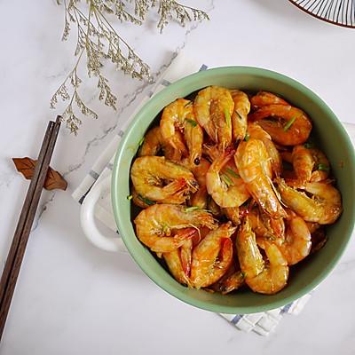 蒜蓉醬油燒大蝦