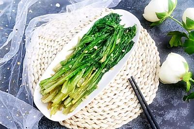 蒜蓉油麦菜#做道好菜,自我宠爱!#