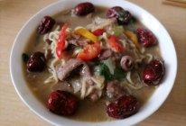 猪心面汤的做法