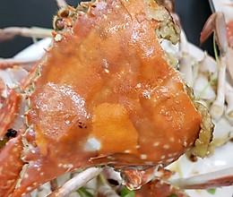 葱姜丝焗蟹