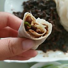 京酱肉丝+薄饼