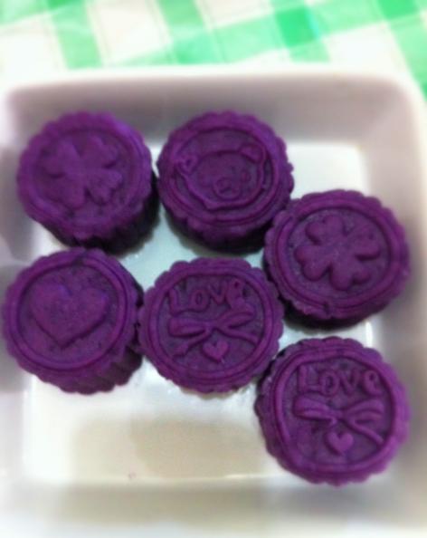 香甜紫薯饼的做法