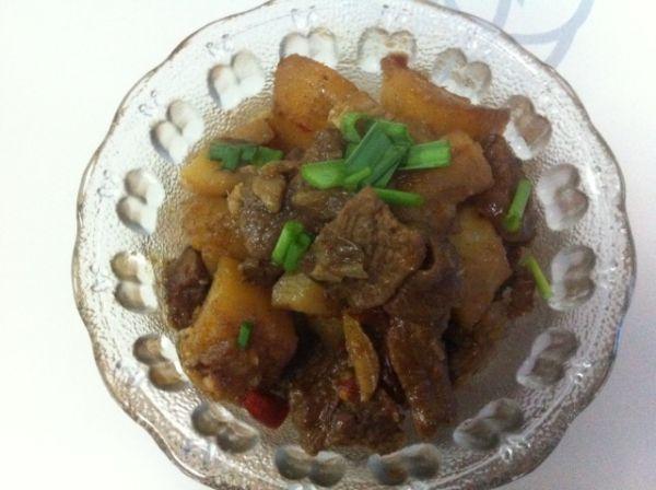 江苏年夜饭必备-火红香辣土豆牛肉的做法