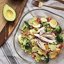 #美食新势力#藜麦鸡胸肉沙拉|低卡路里高蛋白