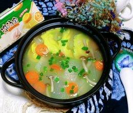 #饕餮美味视觉盛宴#消夏解暑的虾皮冬瓜汤的做法