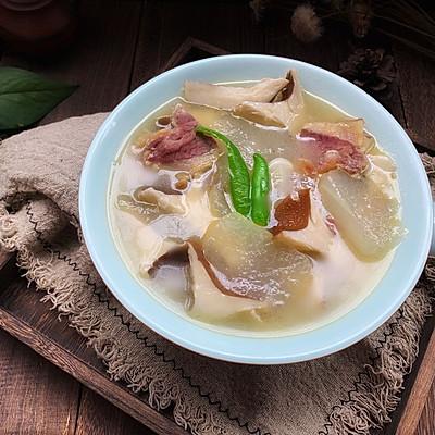 冬瓜火腿菌菇汤