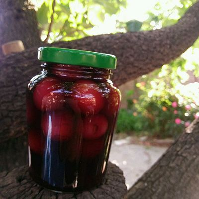 红酒渍樱桃~
