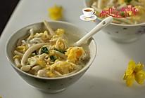 银鱼菌菇鸡蛋汤#舌尖上的春宴#的做法