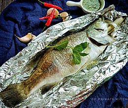 厨娘归来——锡纸香茅焗鱼的做法