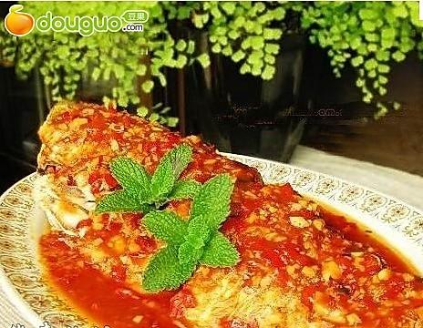 番茄剁椒鱼的做法