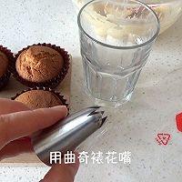 焦糖奶酪 cupcake 杯子蛋糕 (视频菜谱)的做法图解14