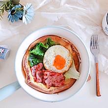 荷兰宝贝松饼(咸口)#快手又营养,我家的冬日必备菜品#