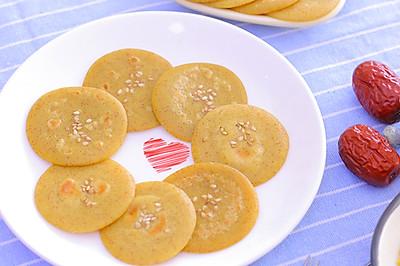 助消化还养胃——小米红枣蛋黄饼 宝宝辅食食谱