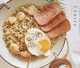 秘制减脂版耳光炒饭㊙️一碗不够吃的做法