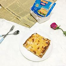 岩烧乳酪椰香吐司#百吉福食尚达人#
