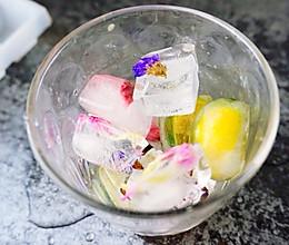 水果鲜花冰块的做法