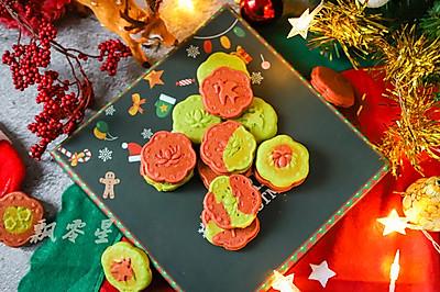 圣诞双色小蛋糕