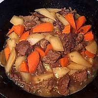 软糯的牛肉清香的萝卜·炖牛肉的做法图解10