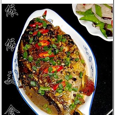 蒜蓉豆豉烧鳊鱼