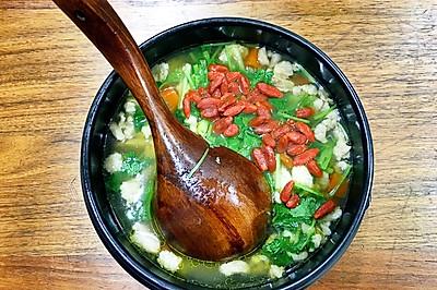 羊肉枸杞萝卜汤
