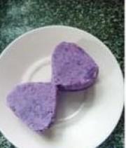 牛奶紫薯泥