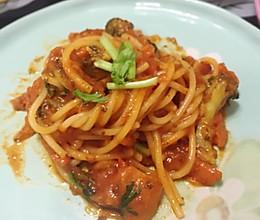 牛肉番茄酱意大利面的做法