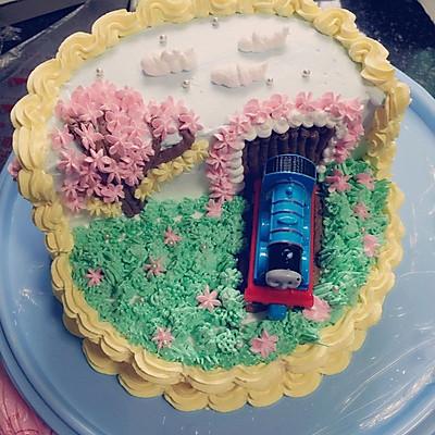 托马斯水果蛋糕