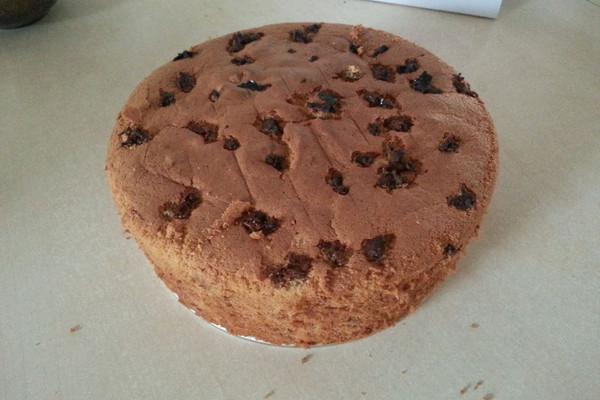 红糖戚风枣糕(八寸圆模)的做法