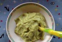 #豆豆的辅食#山药牛油果芦笋鲜虾泥的做法