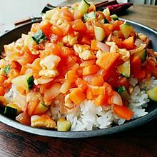 低脂减肥餐【蔬菜鸡肉饭】