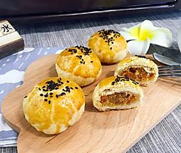 火腿肉松酥(九阳烤箱30j3试用)的做法