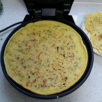 香菇火腿鸡蛋饼的做法图解4