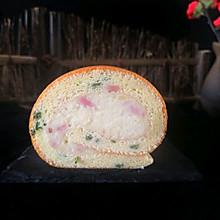 葱香培根蛋糕卷