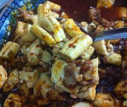 史上最简单的麻婆豆腐牛骨髓的做法