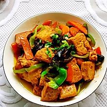 #全电厨王料理挑战赛热力开战!#比肉还好吃的素烧豆腐