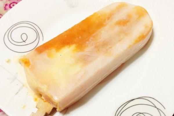 黄杏奶油冰棍的做法