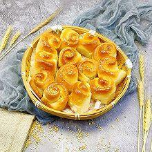 #父亲节,给老爸做道菜#蜂蜜脆底小面包