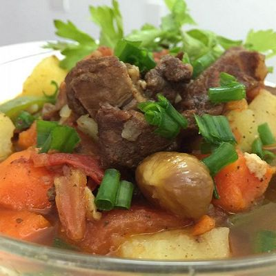 土豆番茄炖牛腩