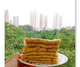 西葫芦火腿煎饼的做法