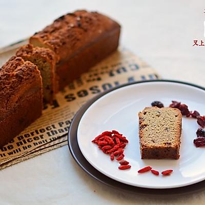 蔓越莓荞麦磅蛋糕