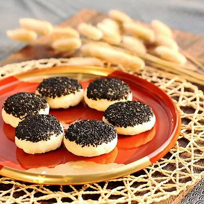 ❤️ 黑芝麻椒盐酥饼❤️