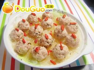 清蒸香菇猪肉丸的做法