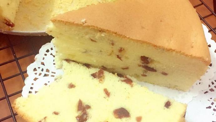 初恋的味道蔓越莓戚风蛋糕8寸