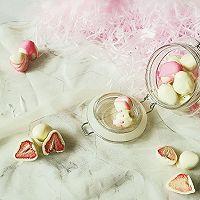 冻干草莓夹心巧克力