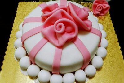 像花儿一样翻糖蛋糕